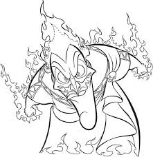 hades anger fire coloring netart