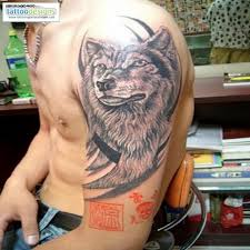download tattoo men forearm wolf danielhuscroft com