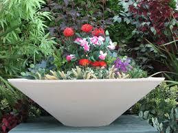 flowers in patio planters lawn patio barn u0027s home flower pot