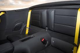 Porsche 911 Back Seat - 2017 porsche 911 carrera s cabriolet rear interior seats motor trend