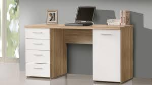 Schreibtisch Preiswert Net106 Bürotisch In Sonoma Eiche Und Weiß Matt 145x60 Cm