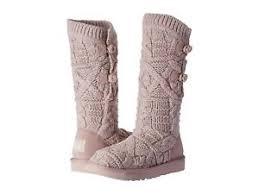 s boots size 9 ugg australia s boots kalla knit dusk sweater 1017498 size 9
