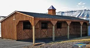 Shed Roof Homes Shedrow Horse Barns Shed Row Barns Horizon Structures