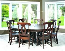 round dining table for 6 with leaf 6 person dining room table oasis games