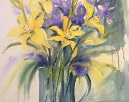watercolor paintings etsy au