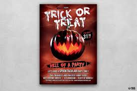 halloween flyer background halloween flyer template psd to customize easily vol 6
