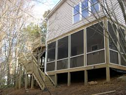 Two Story Deck Charlotte Nc Second Story Master Bedroom Bath Addition With Two