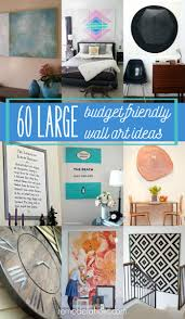 How To Decorate Large Walls by Remodelaholic 60 Budget Friendly Diy Large Wall Decor Ideas