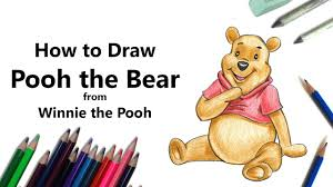 pooh bear winnie pooh color pencils