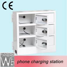 2015 sopower phone charging station 6 compartments phone charging