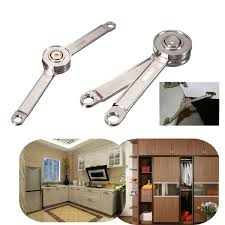 Kitchen Cabinet Hydraulic Hinge by Door Stays Kitchen Cupboard Cabinet Support Toy Box Hinge Lift Up