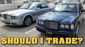 2009 bentley arnage t should i trade my arnage t owning a bentley arnage video 11