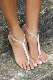 barefoot sandals for wedding unique barefoot sandals beaded barefoot sandals for