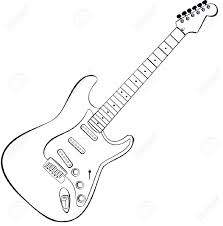 images of fender strat drawing by sc