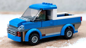 lego city jeep how to build tutorial for custom lego city pick up car made from
