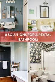 quick home design tips apartement pretty rental apartment bathroom decorating ideas