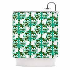 Ideas For Bathroom Decoration Bathroom Pretty Ikat Shower Curtain For Bathroom Decoration Ideas