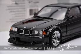 bmw e36 m3 4 door ut 1 18 bmw m3 gtr e36 black ebay
