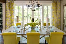 Yellow Dining Chair 25 Dining Areas With Yellow Dining Chairs Home Design Lover