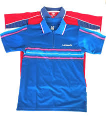 joola table tennis clothing butterfly joola table tennis ping pong boy s polo shirts size l lot