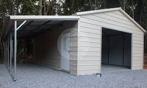 How To Build A Lean To On A Pole Barn Lean To Metal Carports And Buildings Worth It Carport Central