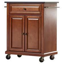 kitchen island cart with granite top kitchen mobile kitchen island cart with black granite top unique