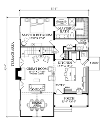 4 Bedroom Bungalow Floor Plans Best 25 Cottage Style House Plans Ideas On Pinterest Small