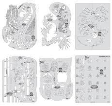 kanji master mini set iwata artool airbrush stencils amazon ca