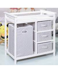 baby changing table basket find the best deals on gray infant baby changing table w 3 basket