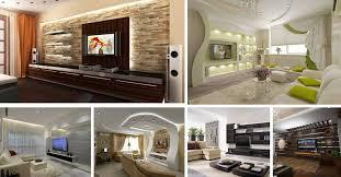 Modern TV Wall Design Home Interior Designs - Modern tv wall design