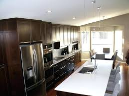 one wall kitchen with island designs single wall kitchen cabinets evropazamlade me