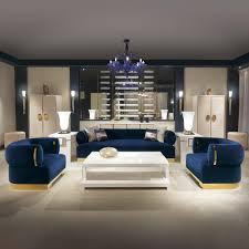 high end modern italian designer blue velvet sofa juliettes