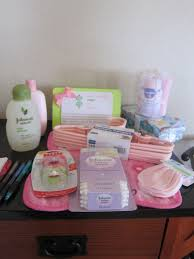 pink and green baby shower sugar details
