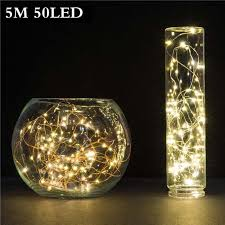 battery powered outdoor led string lights 5m 50 led 3aa battery powered outdoor led copper wire string lights