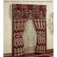 Waterfall Comforter Dynasty Damask Merlot Comforter Bedding