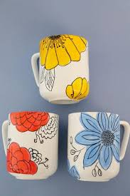 25 unique painted mugs ideas on based sharpie