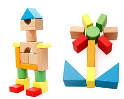 large wooden pieces large wooden blocks construction building toys set stacking bricks