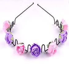 hair bands for majik new style zigzag hair floral hair bands for kids
