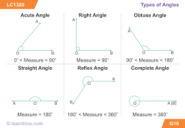 learnhive icse grade 5 mathematics lines and angles lessons