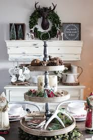 christmas living room and dining room details