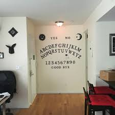 homemade ouija board wall decoration manning makes stuff