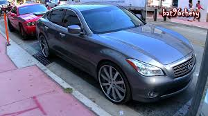 rose gold infiniti car infiniti m37 on 24