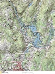 Barrows Map Nipmuck Trail Map Southern Trailheads