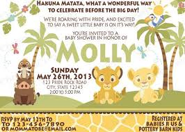 lion king baby shower invitations baby shower invitation lion king beautiful lion king baby shower
