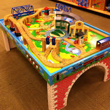 Thomas The Train Play Table This Thomas The Train Table Top Would Look Better At Home Instead