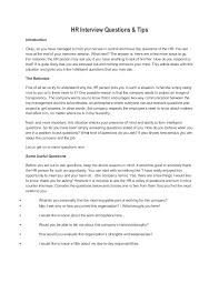 what questions do you get asked in a job interview hr interview questions tips