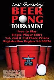 beer pong tournament the hangar special events san antonio