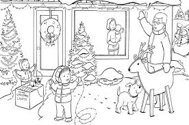 coloring pages winter family winter coloring pages of