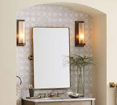 Pottery Barn Mirrors Bathroom by Vintage Pivot Mirror Pottery Barn