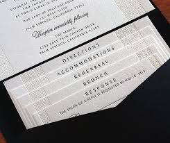 Customized Wedding Invitations Beautiful Customized Wedding Invitation Set With Tiered Inserts